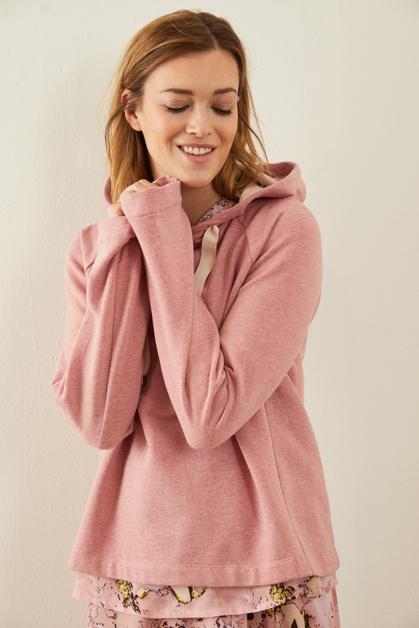 Sweater rose melange